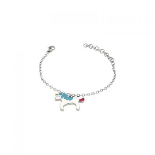 Stainless Steel Unicorn Bracelet
