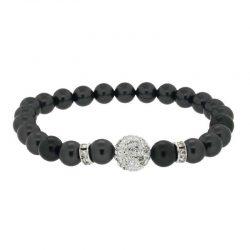 Dark Grey Swarovski Pearl Bracelet