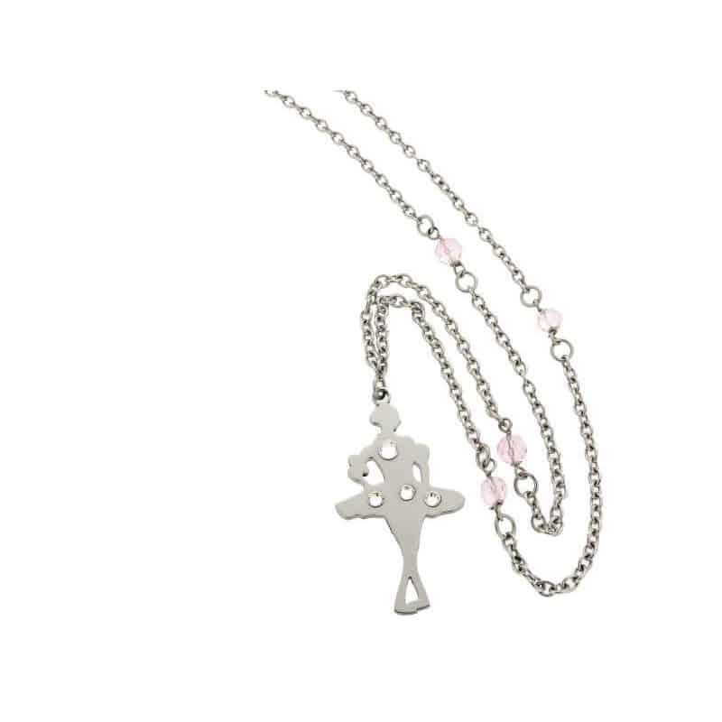 Stainless Steel Ballerina Necklace