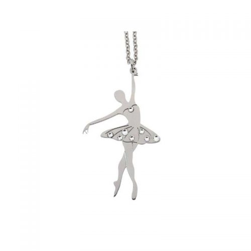 Stainless Steel Dancer Necklace