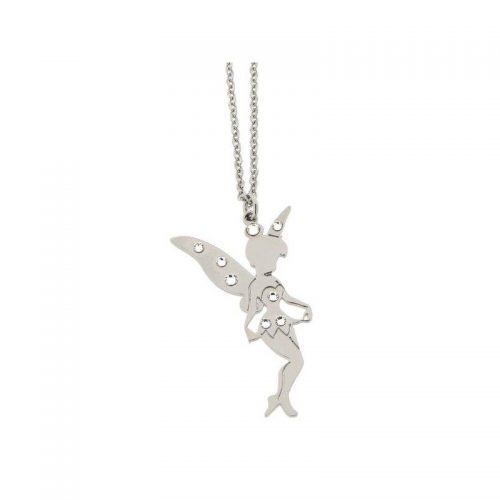 Stainless Steel Tinkerbell Fairy Necklace