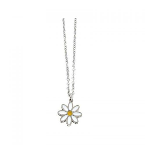 Stainless Steel Daisy Necklace
