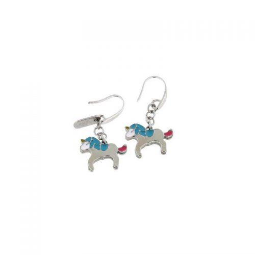 Stainless Steel Unicorn Earrings