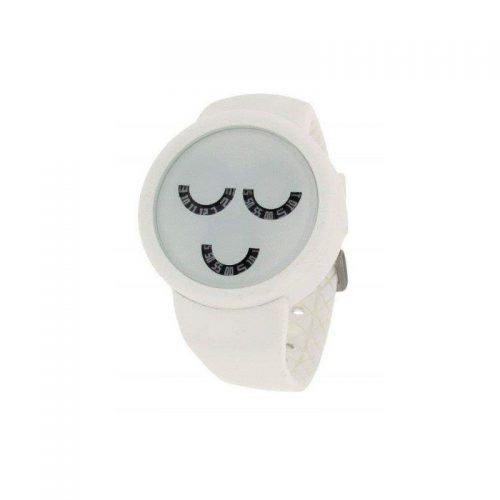 White Starpy Watch with UuU Face