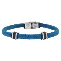 Light Blue Wire Bracelet