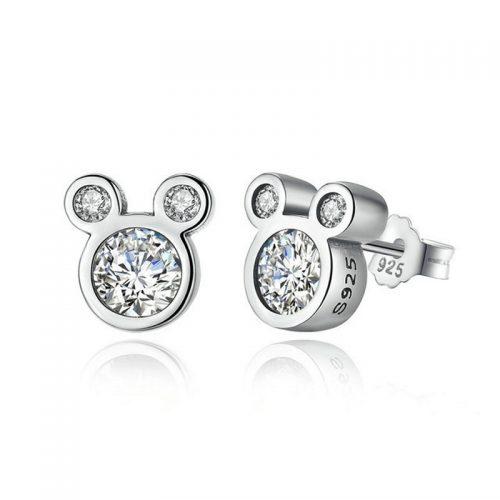 Dazzling Mickey Mouse Earrings