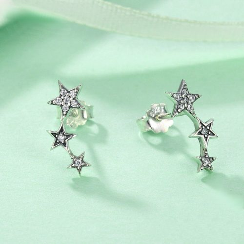 Exquisite Stackable Star Earrings