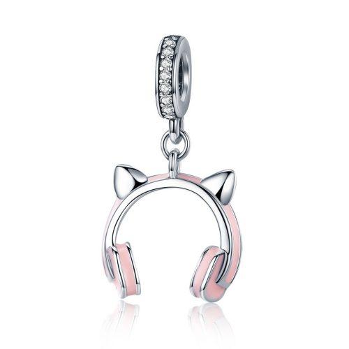 Kitty Ear Headphones Charm