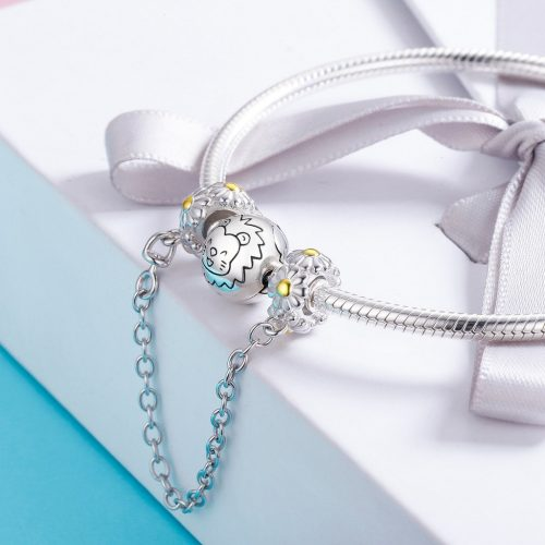 Daisy Charm Safety Chain