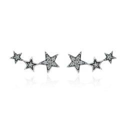 Exquisite Stackable Star Earrings