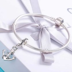 Rope and Anchor Charm