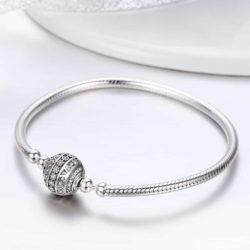 Charm Bracelet - Round Ball Snake Chain