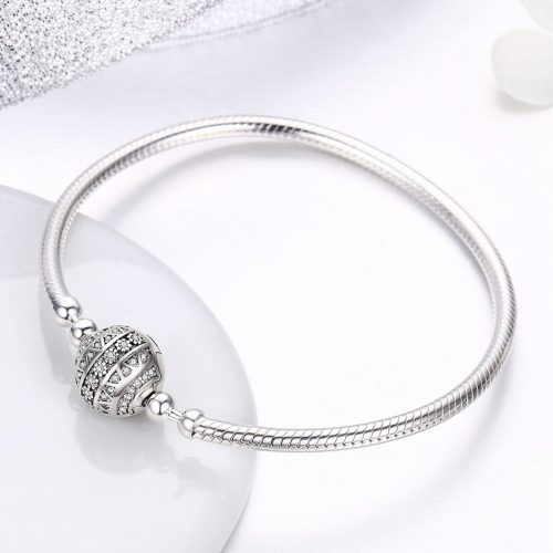 Charm Bracelet – Round Ball Snake Chain