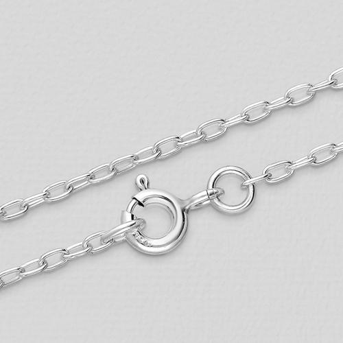 Silver Anchor Chain 1.5mm