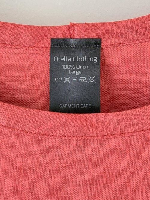 Linen Bell Sleeve Box Top