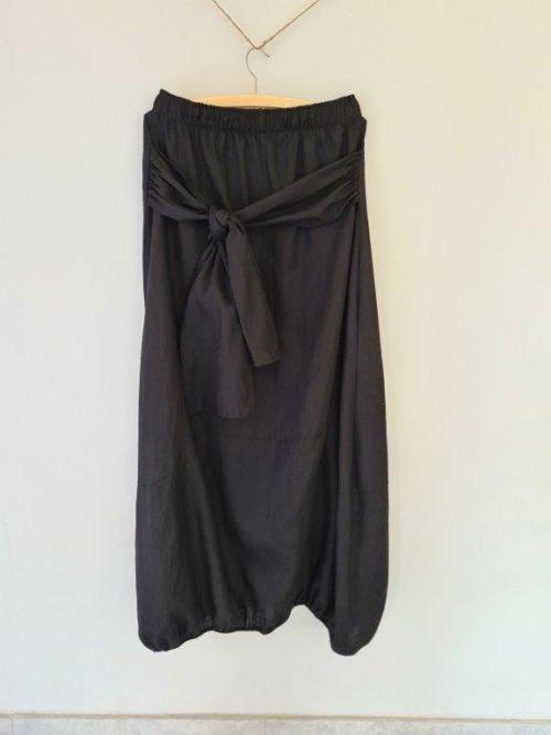 Linen Bubble Skirt