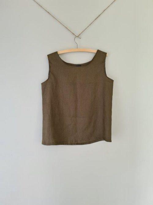 Linen Simple Tank Top