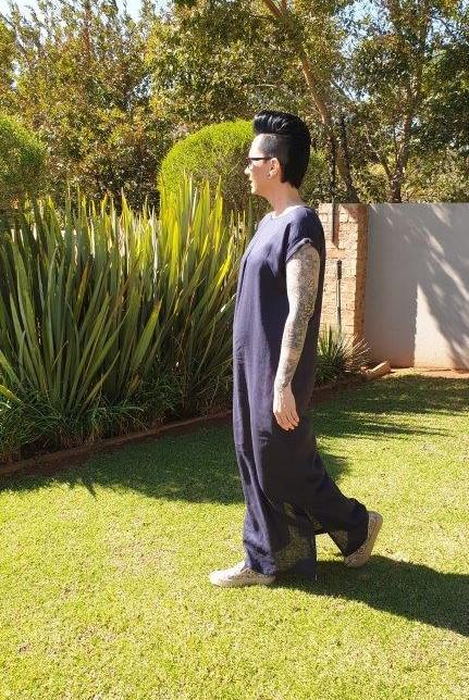 Linen Box Dress